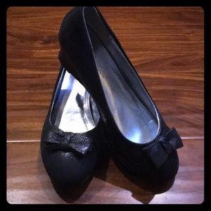Other - Girls' Black Dressy Wedges